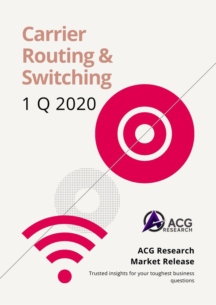 ACG Research 1Q20 Carrier Routing and Switching Market Share Report